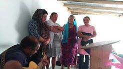 La chorale des sœurs qui chante au culte à Aureilhan le 21.06.20