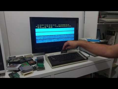 How to Backup an 8k or 16k Cartridge on a standard Atari 800XL with no extra hardware