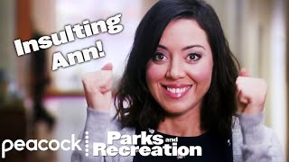 Parks and Recreation - April's All-Time Insults for Ann (Supercut)