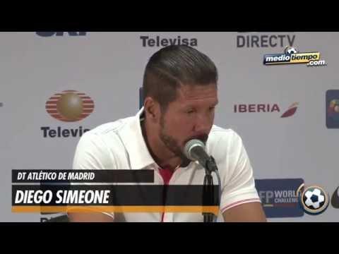 Diego Simeone valoró lo mostrado por el Atlético