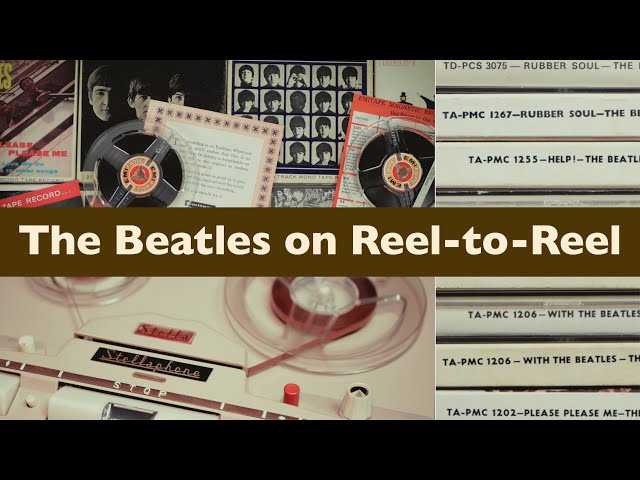 The Beatles UK EMI Reel-to-Reel Tape Albums: для тех, кто на 9 и 19-й