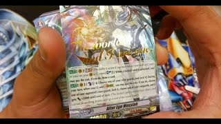cardfight vanguard vge g td05 fateful star messiah opening hot stamped card pull