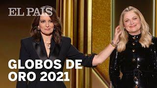 Lo mejor de los GLOBOS DE ORO 2021: triunfan 'NOMADLAND', 'BORAT', 'THE CROWN' y 'GAMBITO DE DAMA