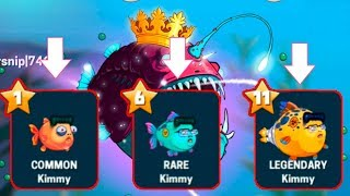 Новая рыбка Eatme.io! коллекция рыб! Eatme.io Hungry fish fun game \ ио на андроид