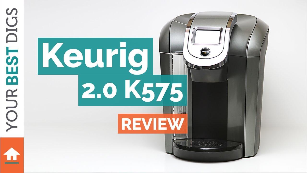 Keurig - 2.0 K575 Review - YouTube
