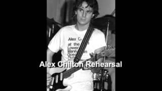 Alex Chilton Rehearsal  Shea Stadium