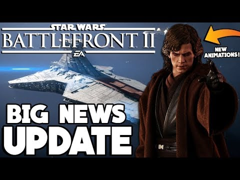 BIG NEWS! Updated Roadmap, New Anakin Animations and Capital Ship Mode! Star Wars Battlefront 2 thumbnail