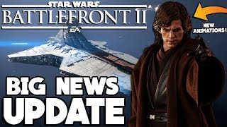 BIG NEWS! Updated Roadmap, New Anakin Animations and Capital Ship Mode! Star Wars Battlefront 2