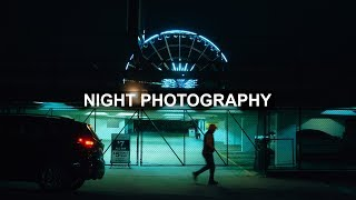 Empty City Night Street Photography (behind the scenes)