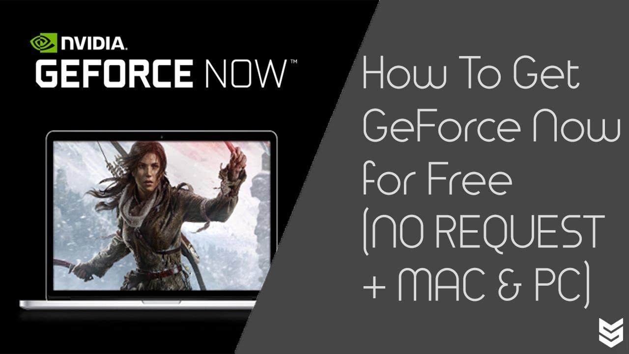 geforce now key generator 2019