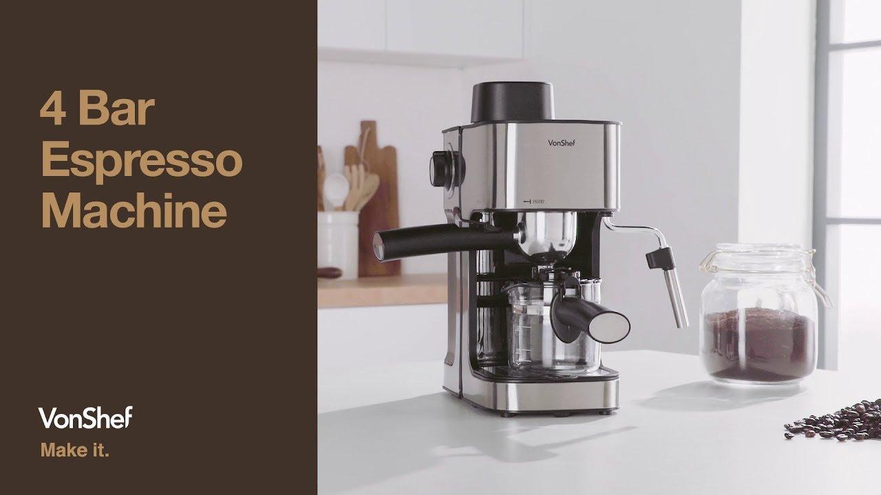 Vonshef 4 Bar Espresso Machine