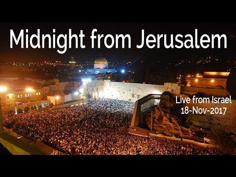 Midnight from Jerusalem 18-Nov-2017