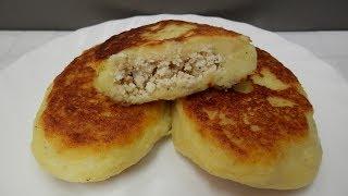 ЗРАЗЫ - Картофельные пирожки с мясом. Невероятно ВКУСНЫЕ и НЕЖНЫЕ