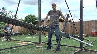 Making a Huge 360 Swing #2 Swing Arm