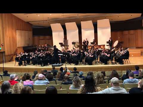 Concert Band @ Sac State Music Festival 2018