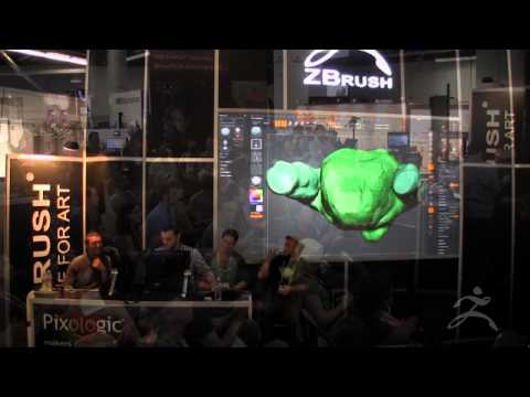 ZBrush at SIGGRAPH 2013 Sony Santa Monica Studio Part 2