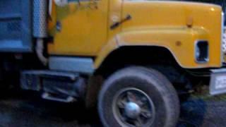 1989 international dump truck