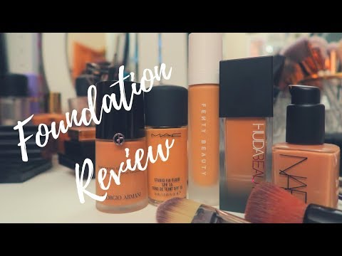 Top Foundations | Review | Vithya Hair and Makeup