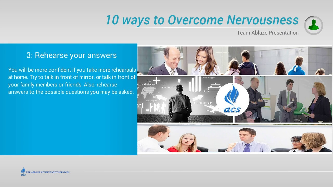 picture How to Overcome Nervousness