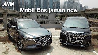 Nyaman buat semua kondisi, Mazda CX-8 atau Toyota Alphard?