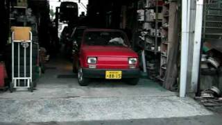 maluch in Japan, No.6.  フィアット126