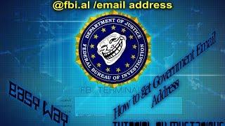 Wie erstellt @fbi.al E-Mail-Adresse