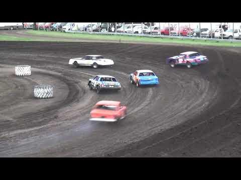 IMCA Hobby Stock Heat 1 Benton County Speedway 7/21/19