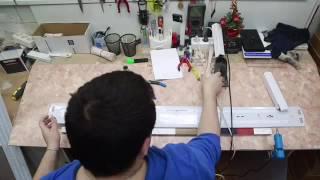видео Лед светильники потолочные встраиваемые Армстронг – энергосберегающие технологии офисного освещения