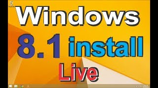 How to Install Windows 8.1 Kaise install kare