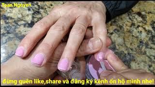 Cách làm nails đơn giản 86: cách làm DIP nails sao cho ở lâu hơn.