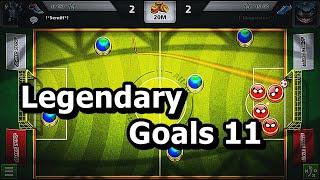 Soccer Stars Legendary Goals 11 Best 3D Team Goals