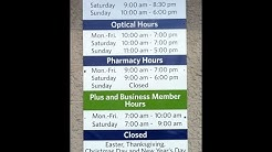 sam's club hours- sams club times
