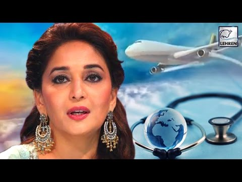Madhuri Dixit HOSPITALISED In US!!! | LehrenTV