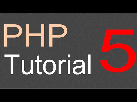 PHP Tutorial For Beginners - 05 - String Concatenation