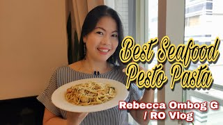 Best Seafood Pesto Pasta