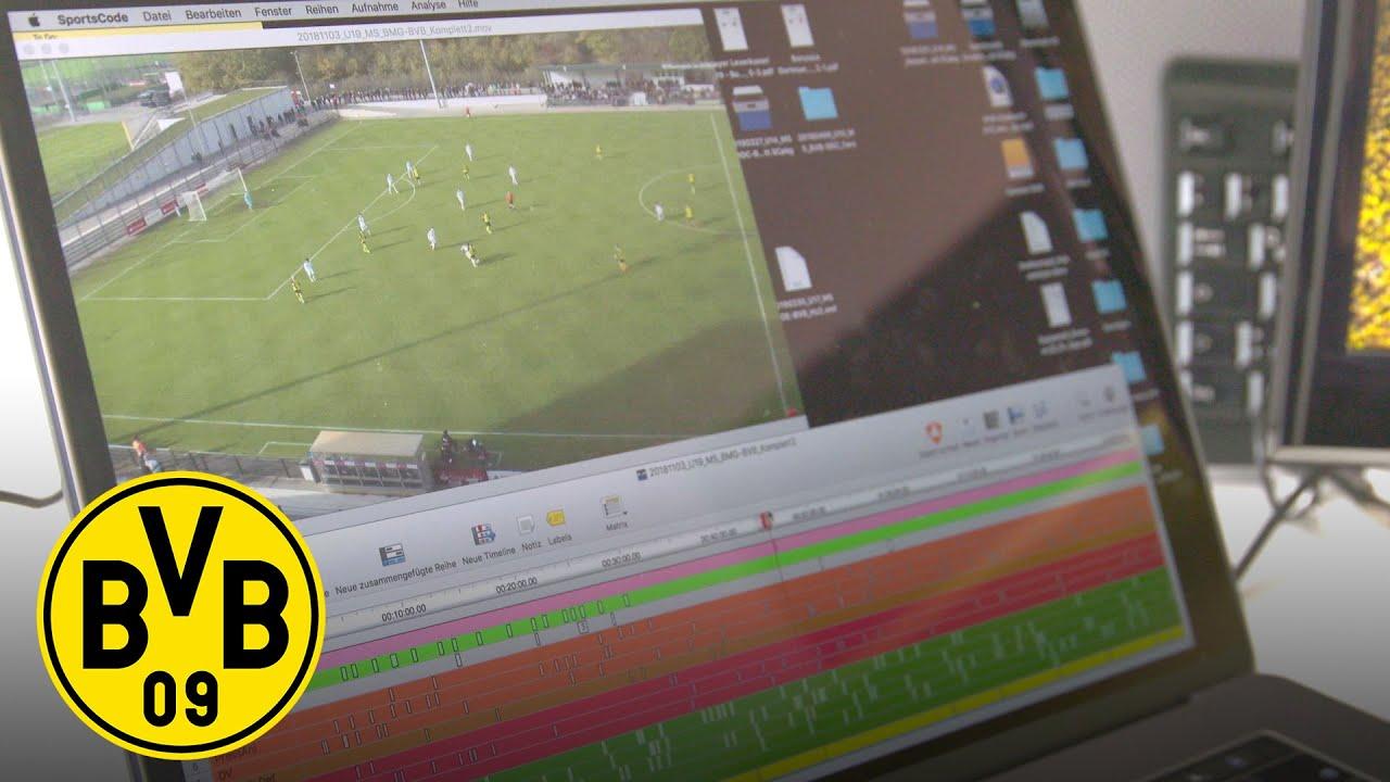 Wie arbeitet ein Videoanalyst bei Borussia Dortmund VOR dem Spiel? | Inside BVB - Teil 1