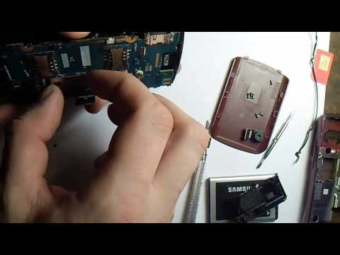 Разборка Телефона Samsung GT-C6112