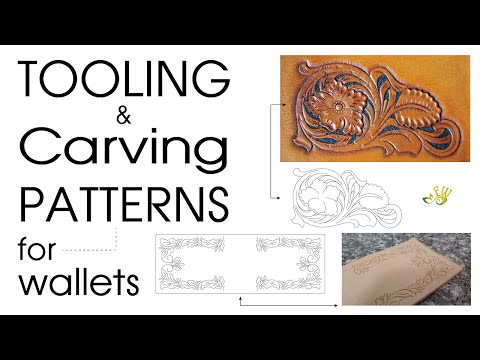 Tooling & Carving Patterns For Wallets By Fischer Workshops (HD)