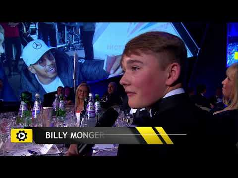 Billy Monger - Autosport Awards 2017