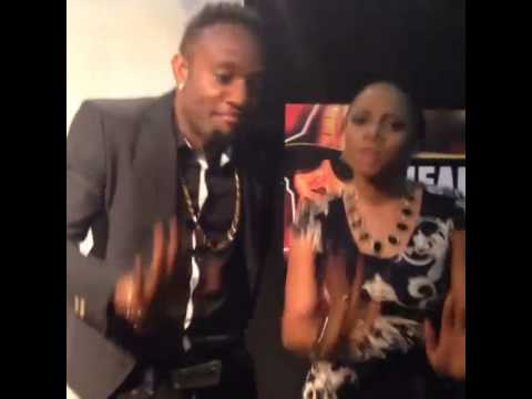 Check Out Toke Makinwa & Kcee Dancing To Pull Over