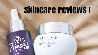 Princess Potion & L'occitane Reine Blanche : Skincare Review