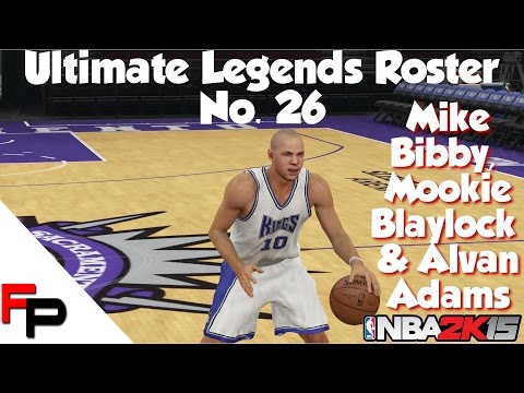 NBA 2K15 - Alvan Adams, Mike Bibby & Mookie Blaylock - Ultimate Legends Roster Update 26