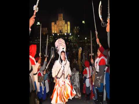2015 Joan of Arc Parade: Joan on Trial and Flaming Heretic Battalions