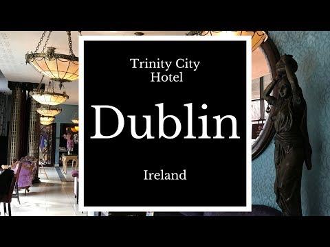 Review of Classic Room at Trinity City Hotel, Dublin Ireland, HD