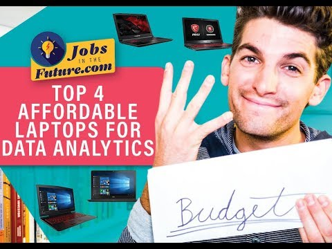 Top 4 Best Affordable Laptops for Data Analytics