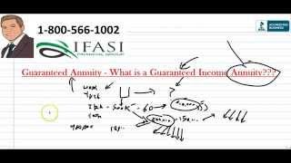 Guaranteed Annuity - What is a Guaranteed Income Annuity