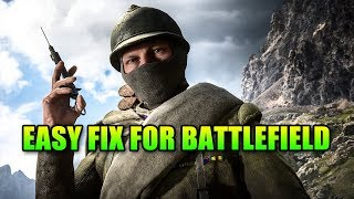 Easy Way To Fix PTFO problems in BF1