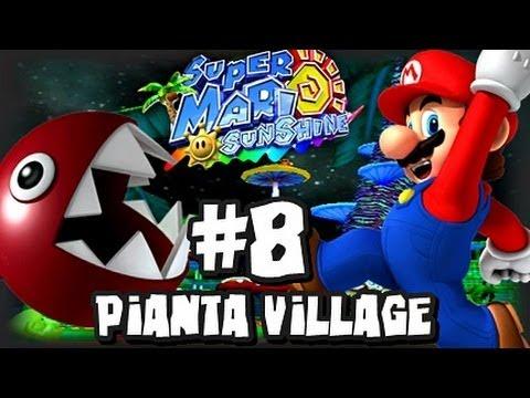 Super Mario Sunshine (1080p) - Part 8 - Pianta Village