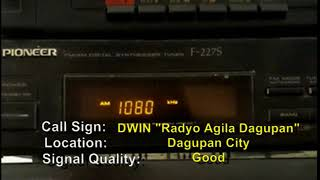 AM Radio stations received in La Union