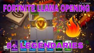 Fortnite - LEGENDARY TROLL LOOT TRUCK LLAMA | FORTNITEMARE LLAMAS | Fortnite Llama Opening